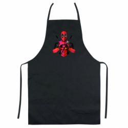 Кольоровий фартух Deadpool Love