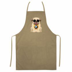 Кольоровий фартух Dog with a collar BMW