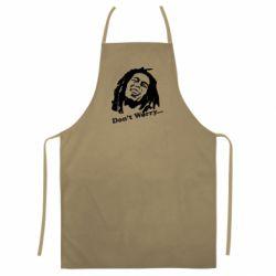 Цветной фартук Don't Worry (Bob Marley)