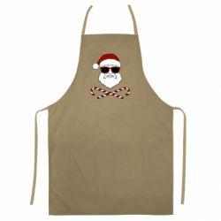 Кольоровий фартух Fashionable Santa