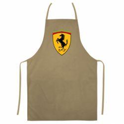 Цветной фартук Ferrari