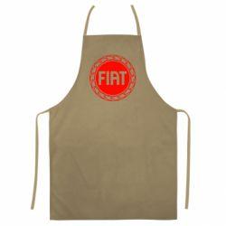 Кольоровий фартух Fiat logo
