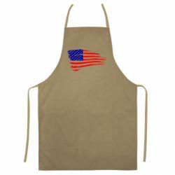 Кольоровий фартух Прапор США