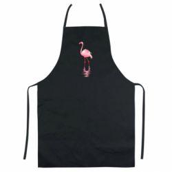 Кольоровий фартух Фламинго