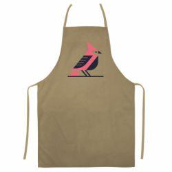 Кольоровий фартух Geometric Bird
