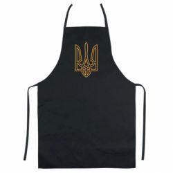 Кольоровий фартух Герб України (полий)