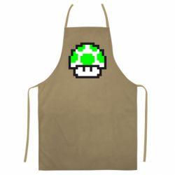 Цветной фартук Гриб Марио в пикселях