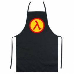 Кольоровий фартух Half Life Logo