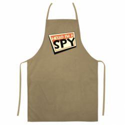 Кольоровий фартух Hello i'm a spy