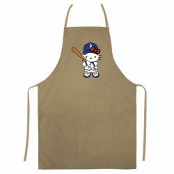 Кольоровий фартух Hello Kitty baseball