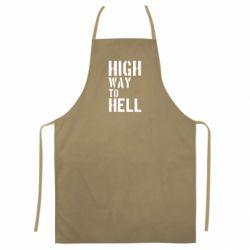 Цветной фартук High way to hell