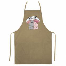 Кольоровий фартух Hippos