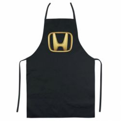 Кольоровий фартух Honda Gold Logo