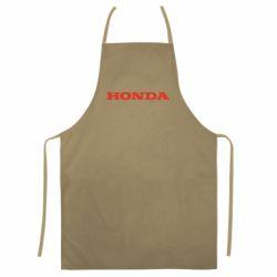 Кольоровий фартух Honda напис