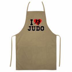 Цветной фартук I love Judo