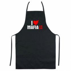 Цветной фартук I love Mafia 2