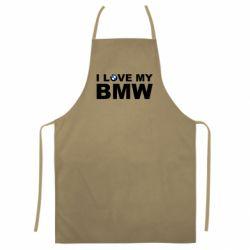 Кольоровий фартух I love my BMW