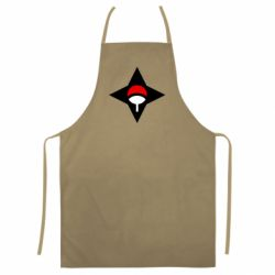 Кольоровий фартух Itachi Uchiha symbol