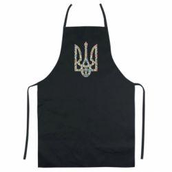 Цветной фартук Квітучий герб України
