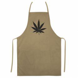 Кольоровий фартух Листочок марихуани