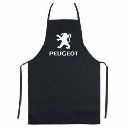 Цветной фартук Логотип Peugeot