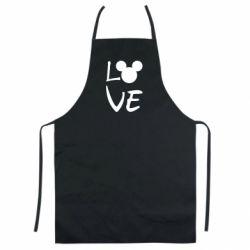 Кольоровий фартух Love Mickey Mouse (male)