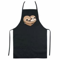 Кольоровий фартух Love sloths