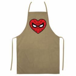 Кольоровий фартух Love spider man
