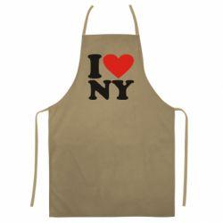 Кольоровий фартух Люблю Нью Йорк