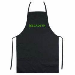 Кольоровий фартух Megadeth