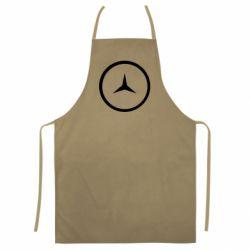 Цветной фартук Mercedes new logo