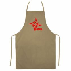 Кольоровий фартух Логотип Metallica
