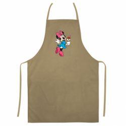Цветной фартук Minnie Mouse and Ice Cream