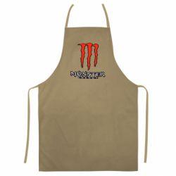 Кольоровий фартух Monster Energy Logo