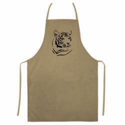 Цветной фартук Морда тигра