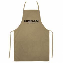 Кольоровий фартух Nissan Motor Company
