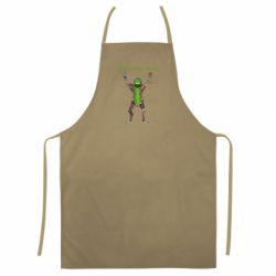 Кольоровий фартух Pickle Rick