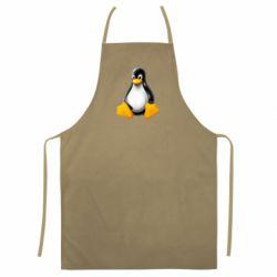 Кольоровий фартух Пингвин Linux