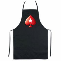 Кольоровий фартух Poker Stars 3D Logo