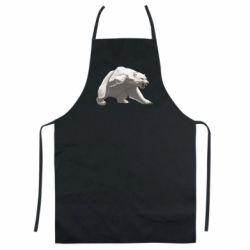 Кольоровий фартух Полярний ведмідь