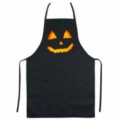 Кольоровий фартух Pumpkin face features