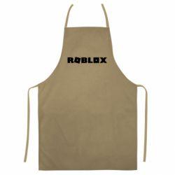 Цветной фартук Roblox inscription