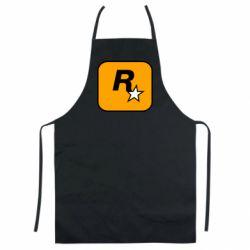 Кольоровий фартух Rockstar Games logo