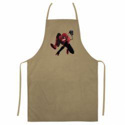 Цветной фартук Spiderman flat vector