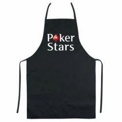 Кольоровий фартух Stars of Poker