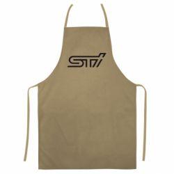 Цветной фартук STI Logo