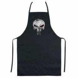 Цветной фартук The Punisher Logo