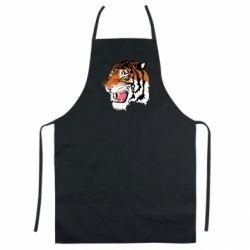 Кольоровий фартух Tiger roars