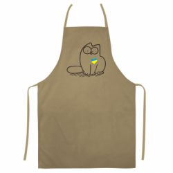 Цветной фартук Типовий український кіт