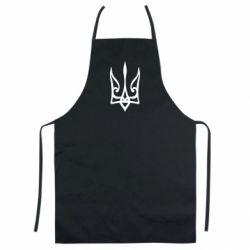Кольоровий фартух Ukrainian trident